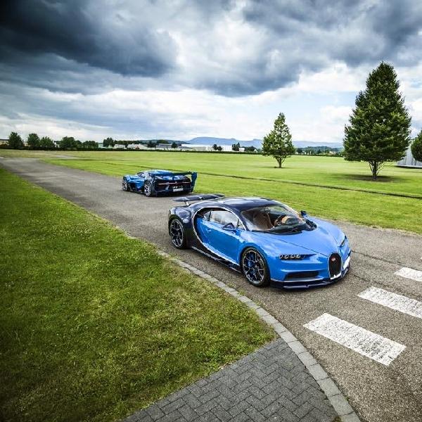 Pangeran Arab Saudi Boyong Dua Produk Bugatti terbaru