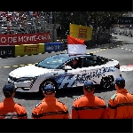 Pangeran Monako Naik Honda Clarity Fuel Cell Keliling Sirkuit Monako