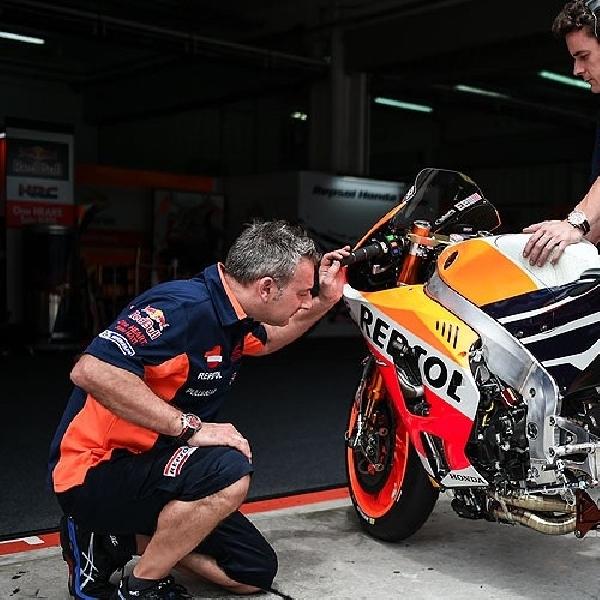 MotoGP: Para Mekanik Honda Terus Lakukan Perbaikan Tunggangan-nya