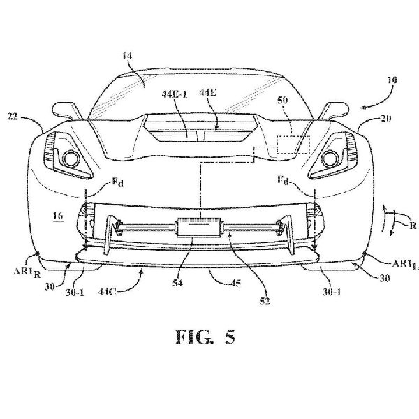 Chevrolet Patenkan Active Aero untuk Corvette