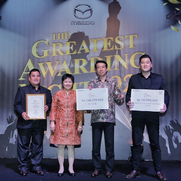 PT Eurokars Motor Indonesia Laksanakan Mazda Dealer Excellence Award 2019