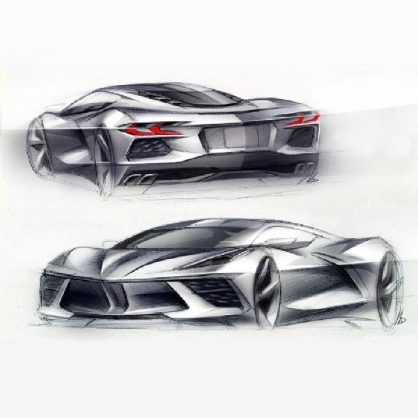 Penampakan Chevy Corvette C8 Z06 2022, Active Aerodynamics dan Velg Karbon Jadi Pemikat