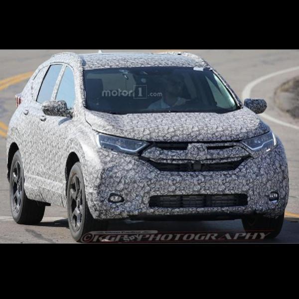 Penampakan Generasi Baru Honda CR-V Masih 'Malu Malu'