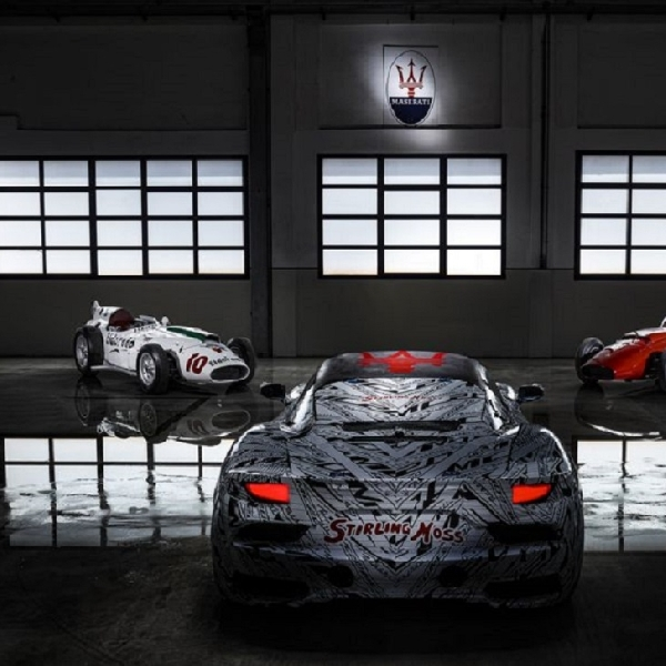 Penampakan Maserati MC20, Tribute Untuk Stirling Moss, Sang Raja Tanpa Mahkota