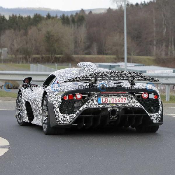 Penampakan Mercedes-AMG One, Hypercar dengan Mesin Bertenaga F1
