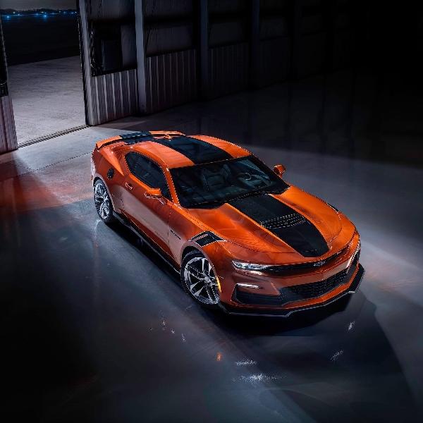 Penampilan Perdana Chevy Camaro 2022 Dengan Warna Orange