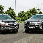 Perbandingan Toyota Fortuner vs Isuzu mu-X, Pilih Mana?
