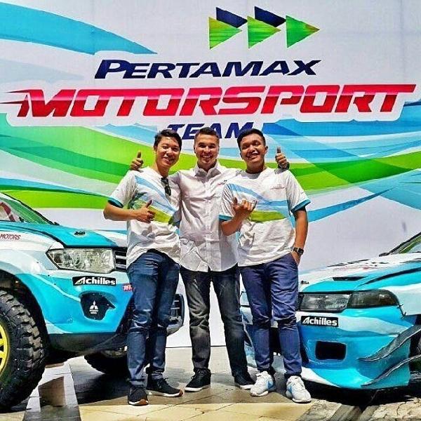 Pertamax Motorsport dukung Kejurnas Drifting 2016
