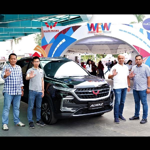 Pekanbaru Jadi Kota Ketiga Wuling Experience Weekend Di Sumatera