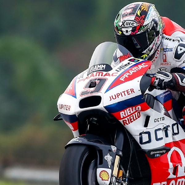 MotoGP: Petrucci Alami Patah Tulang Tangan