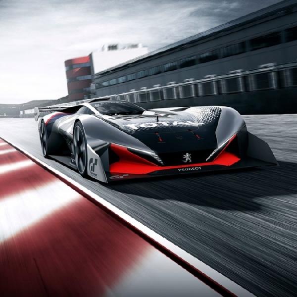 Peugeot Wujudkan Impian Anda Jadi Pebalap Dengan L750 R HYbrid Vision GT