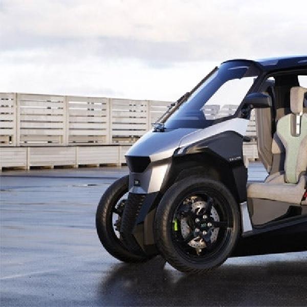 Peugeot Kembangkan PHEV Scooter 4 Roda