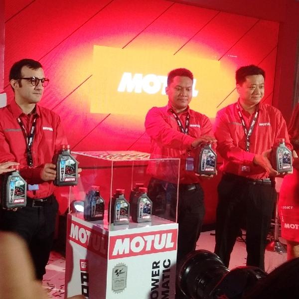 Luncurkan Pelumas Motul GP Power dan GP Matic, Motul Support Gelaran MotoGP Kembali ke Indonesia