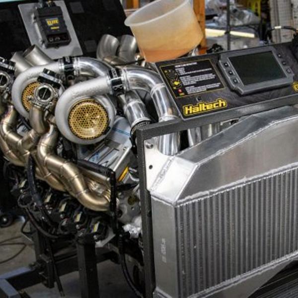 Haltech Kembangkan Setup Quad Turbocharger Buat Mesin LS V12, BlackPals Ikut Memesan?