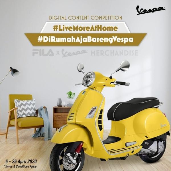 """Kompetisi Konten Digital """"Live More at Home"""", Buat Aktivitas  Dirumah Lebih Kreatif"""
