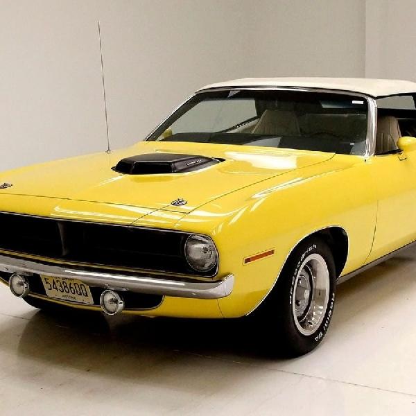 Eksistensi Cuda Convertible 1970 Diantara Muscle Car USA Masih Patut Dipertaruhkan
