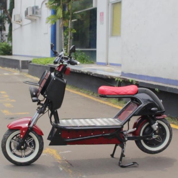 Modifikasi Selis E-Max Bergaya Zoomer, CEV01 Garapan  UBL Makin Stylist dengan Jarak Tempuh 150 km