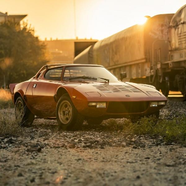 Gaya Lancia Stratos Setelah Dimodif Reli, Widebody dengan Mesin Ferrari Dino V6 Twin Turbo
