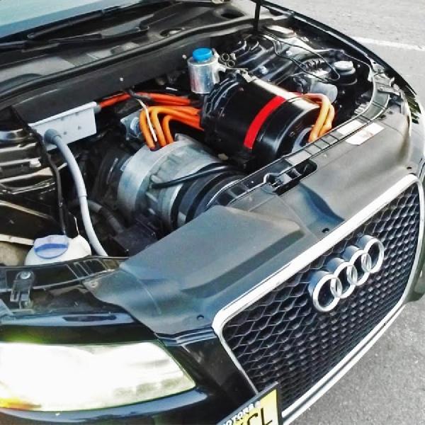 Audi S5 Murni Elektrik AWD dengan Swap Mesin Tesla P85D