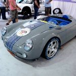 Perpaduan Dua DNA Racing, Replika Porsche 550 Spyder dan Subaru WRX 400 HP