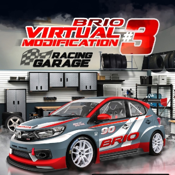 Honda Brio Virtual Modification #3, Kembali Digelar Usung Tema Racing Garage
