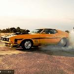 Drag Enthusiast  di Afsel, Pilih  Mustang Mach 1 Bermesin Big Block V8