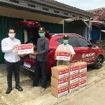MG Motor Indonesia Serahkan 10 Ribu Unit  APD dan Sembako
