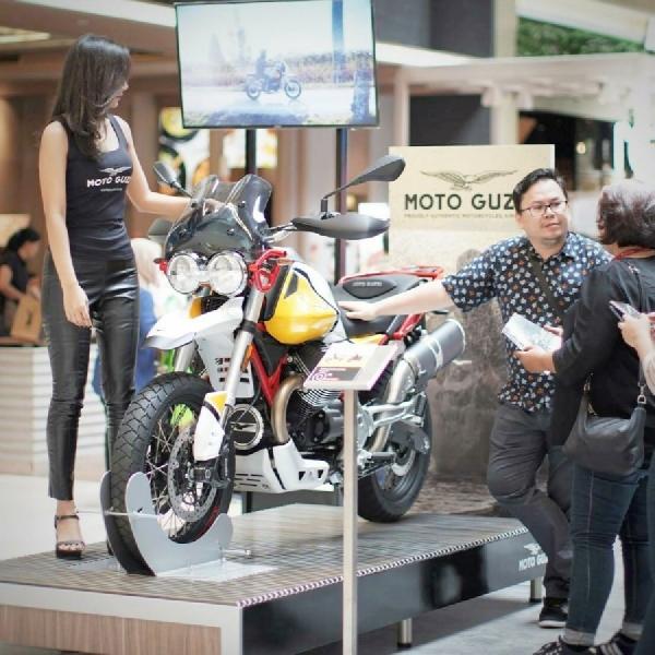 Moto Guzzi V85TT Resmi Meluncur di Indonesia