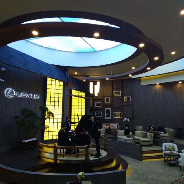 Lexus Indonesia Hadirkan Royal Kabuki Lounge di GIIAS 2019