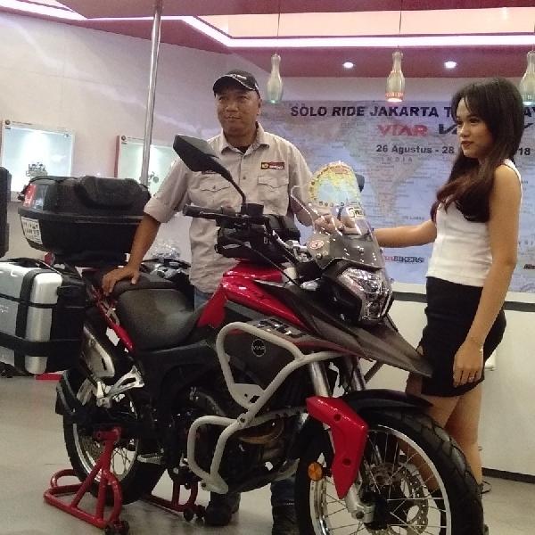 Vortex 250 Terima Tantangan Gunadi Solo Riding Jakarta Himalaya