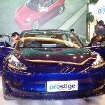 Tesla Model 3 Sudah Bisa Dipesan, Dipamerkan di Pasific Place SCBD