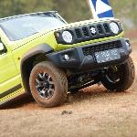 Uji Ketangguhan, Suzuki Jimny Taklukkan Sirkuit Off-road