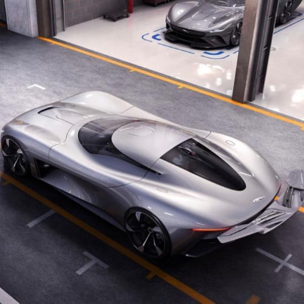 Jaguar Elektrik Ini Bisa Anda Mainkan di Gran Turismo Sport