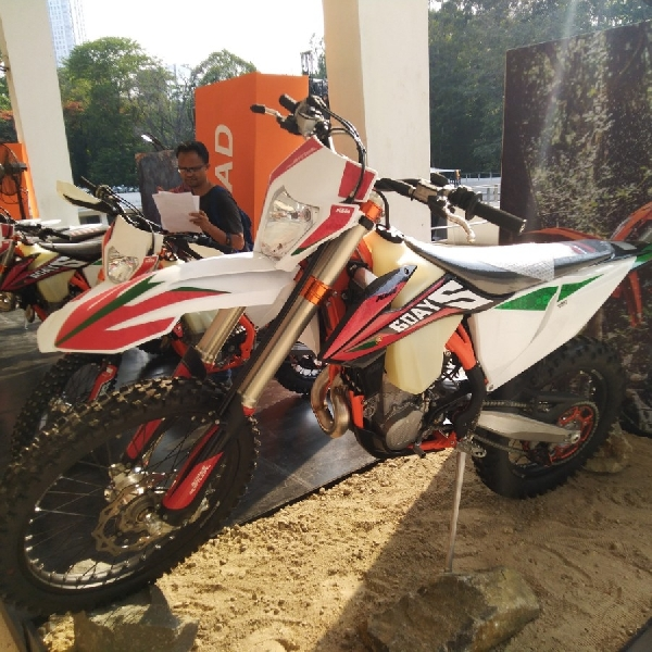 KTM Indonesia Bawa 3 Motor Trail Baru di IIMS Motobike Expo 2019