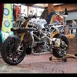 Modifikasi Gahar Ducati 1198R, untuk Balapan Gila Race to Cloud di Pikes Peak