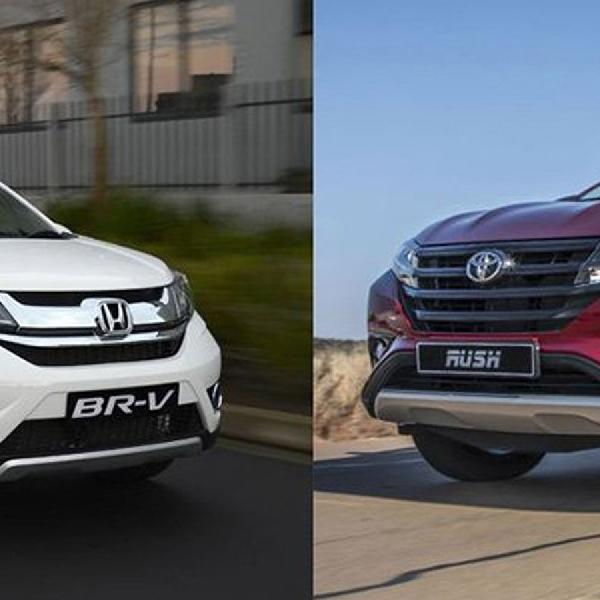 Pilih Toyota Rush atau Honda BR-V? Pilihan Sulit!