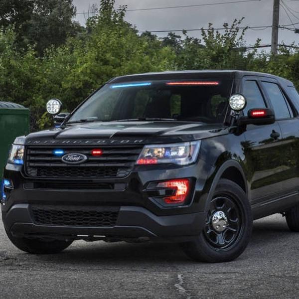 Ford Bikin Mobil Polisi Bertenaga Besar