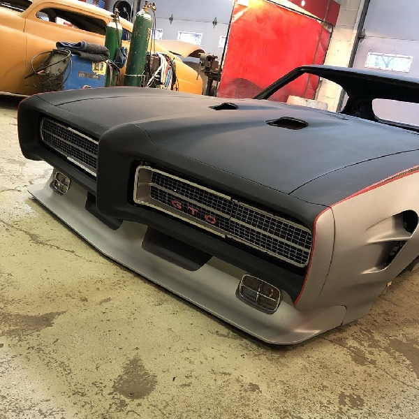 Pontiac GTO 1969, Muscle Car yang Bakal Mejeng di SEMA 2020, Tenaganya 1000 hp Lebih