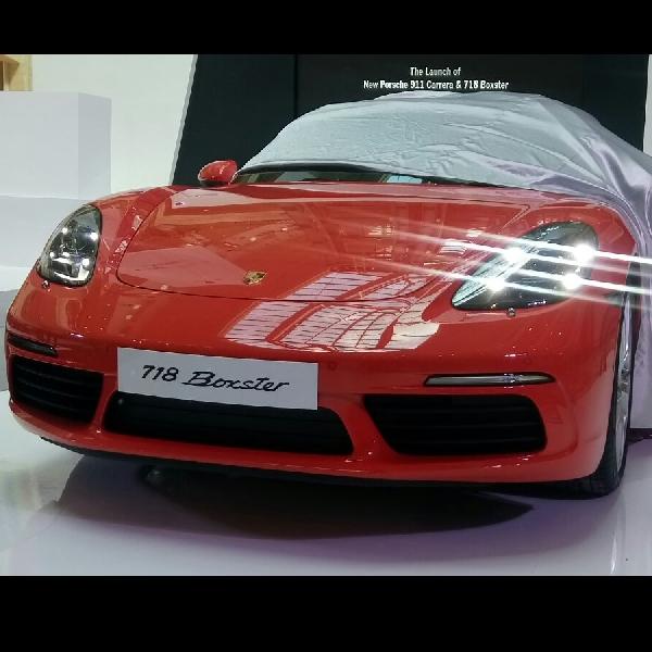 Porsche 911 Carrera dan 718 Boxster resmi hadir di Jakarta