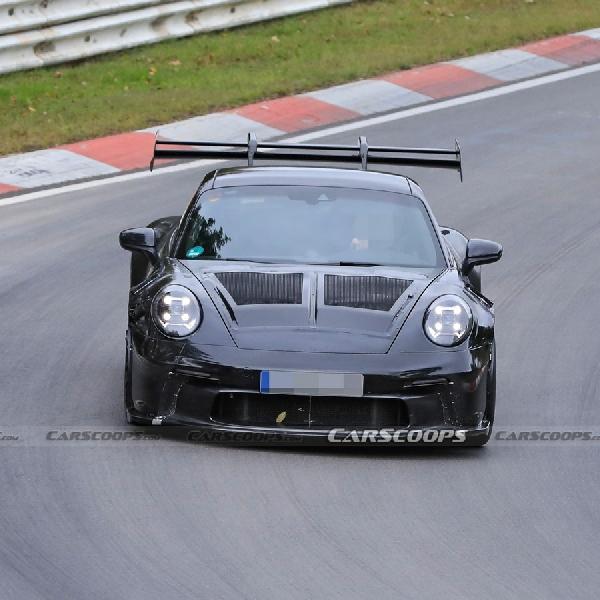 Porsche 911 GT3 RS 2022 Terlihat Uji Coba Di Nurburgring
