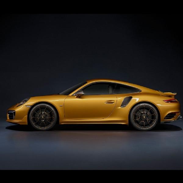 Porsche 911 Turbo S Exclusive Series Diklaim Memiliki Tenaga Tambahan 26 Hp