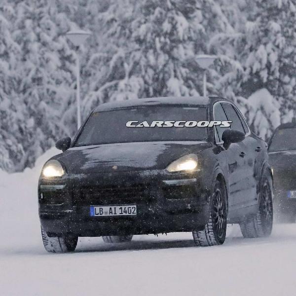Porsche Cayenne 2018 Prototypes 2018 Diuji di Salju