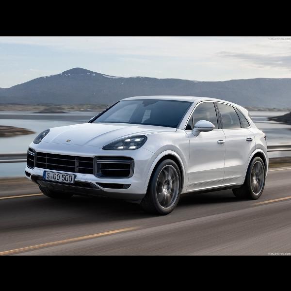 Porsche Angkat Derajat Cayenne Dengan Turbo