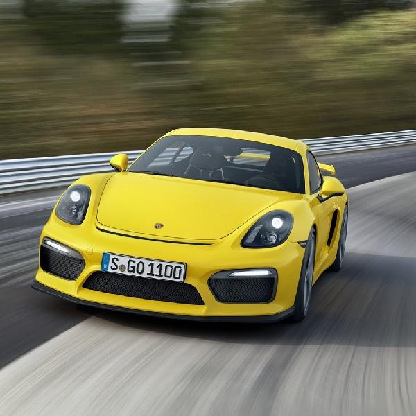 Porsche Bocorkan Kemungkinan Cayman GT4 RS Bermesin 4.0 liter