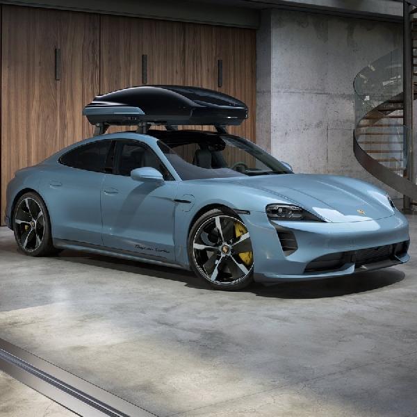 Porsche Hadirkan Roof Box Baru yang Dioptimalkan Secara Aerodinamis