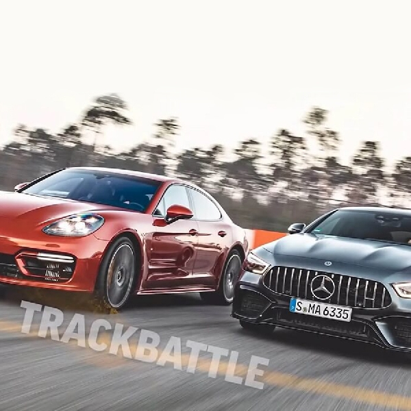 Adu Cepat: Porsche Panamera Turbo S Vs Mercedes-AMG GT 63 S