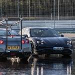 Porsche Taycan Masuk Guinness World Records