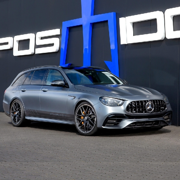 Posaidon Upgrade Tenaga Mercedes-AMG E 63 S Hingga 940 HP
