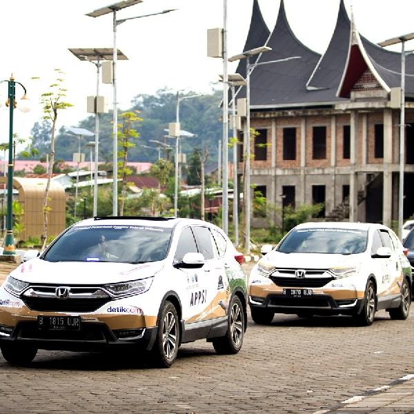 Kini, Giliran Kota Padang yang Disambangi Rombongan Jelajah Nusantara Bersama All New Honda CR-V Turbo