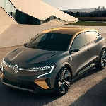 Pratinjau Platform Listrik Baru Renault Megane eVision EV